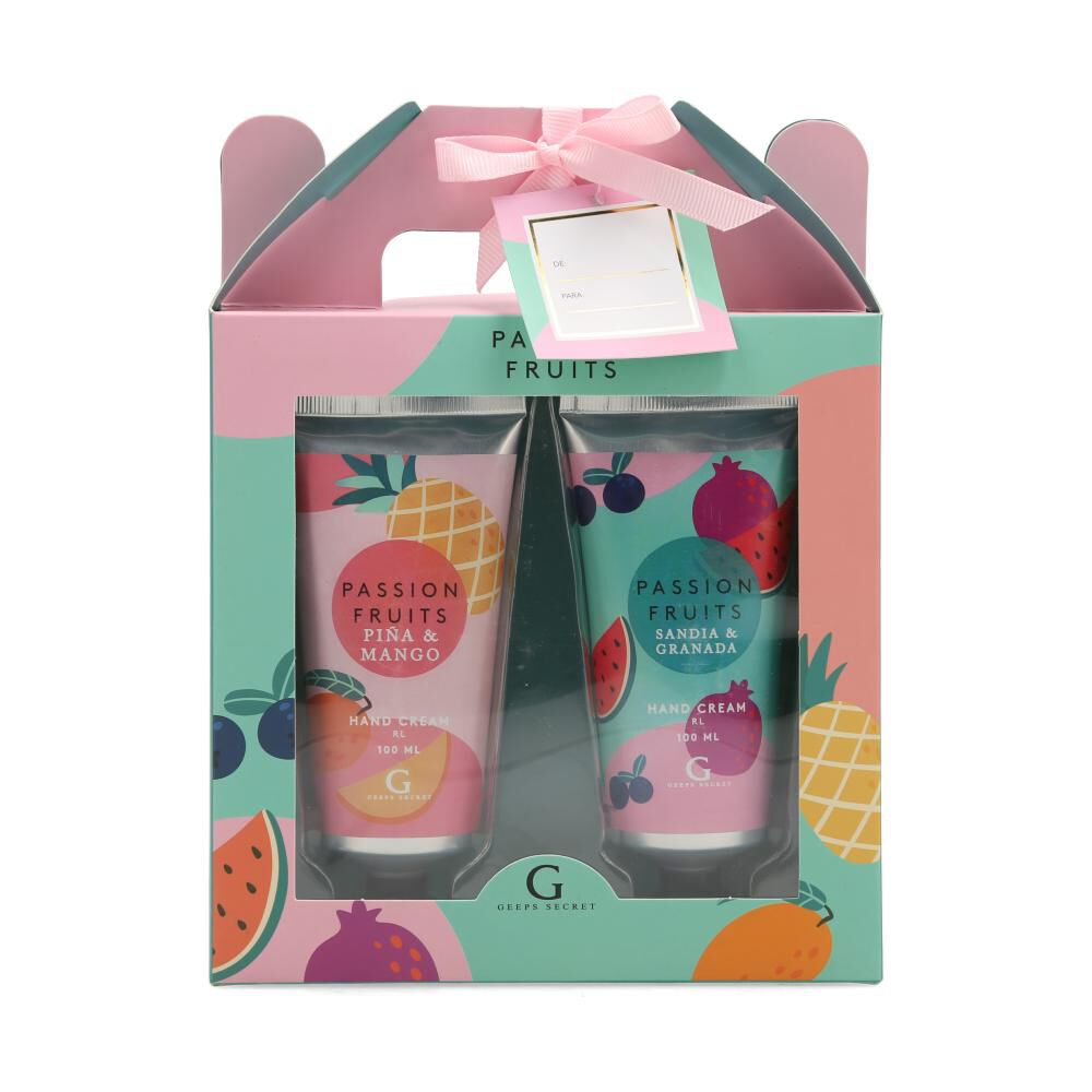 Pack Cremas Body Care Passion Fruits image number 0.0