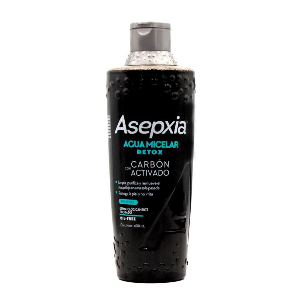 Agua Micelar Asepxia / 400 Ml image number 0.0