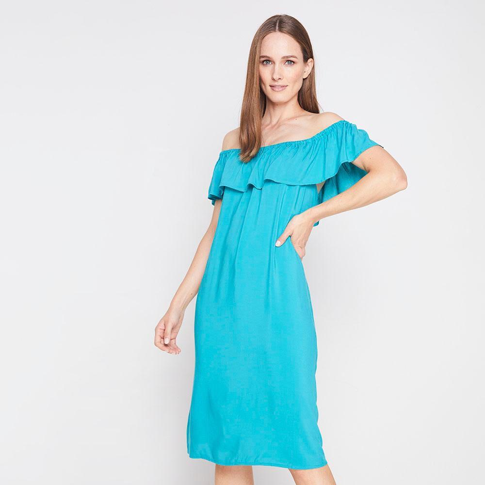 Vestido Con Vuelos Mujer Geeps image number 4.0