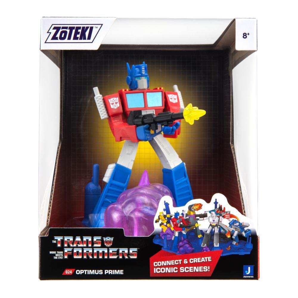 Figura De Acción Zoteki Transformers Optimus Prime image number 1.0