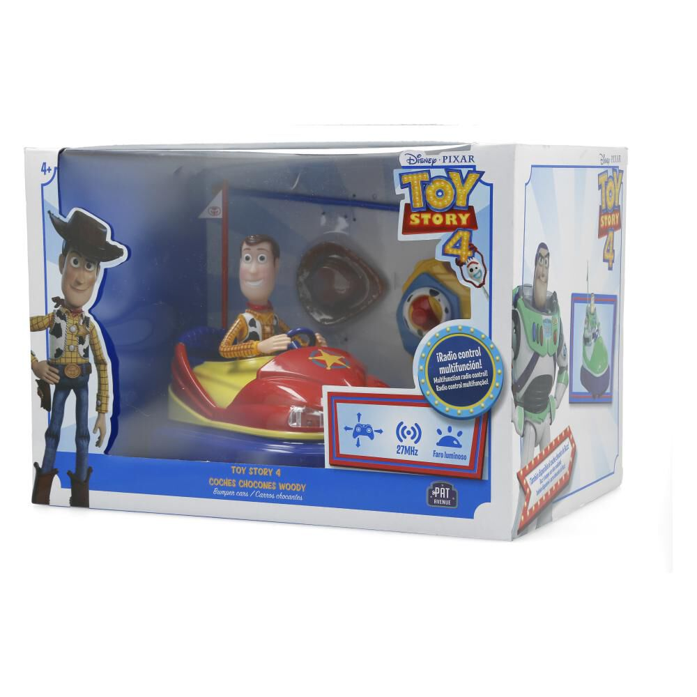 Figura De Pelicula Toy Story Coches Chocones Woody image number 2.0