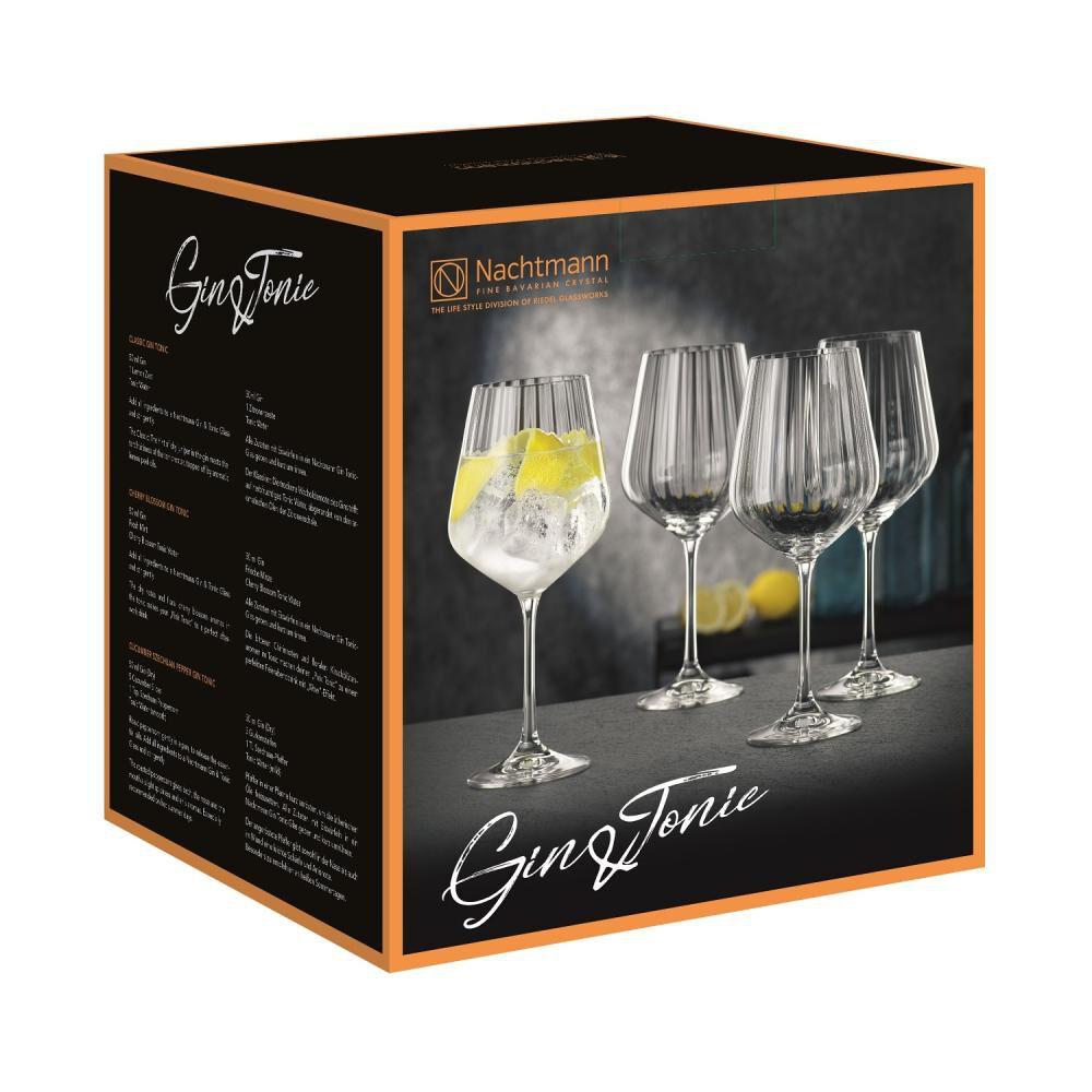 Set De Copas Nachtmann Gin Tonic Optic / 4 Piezas image number 2.0