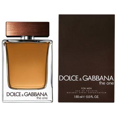 Perfume Hombre The One For Men Dolce Gabbana / 150 Ml / Eau De Toilette