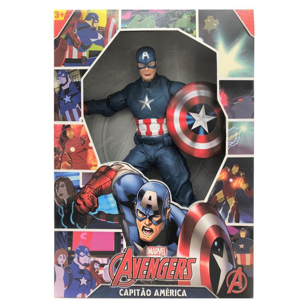 Figura De Acción Mimo Toys Captain America Revolution image number 0.0