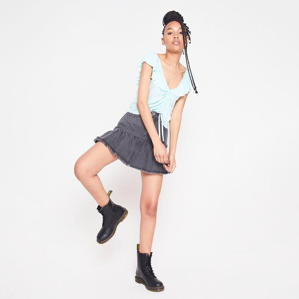 Blusa Plizada Mujer Rolly Go image number 4.0