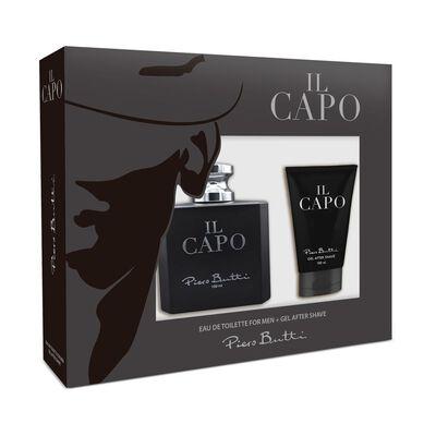Perfume Il Capo Piero Butti / 100 Ml / Eau De Toillete + Gel After Shave