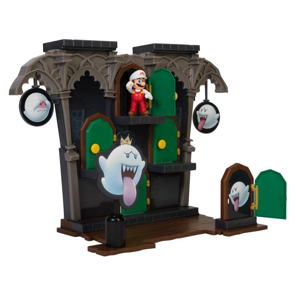 Figura Coleccionable Nintendo Playset Super Mario Dlx Boo Mansion image number 3.0