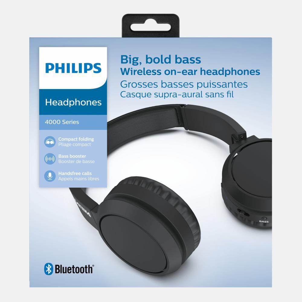 Audífonos Bluetooth Philips Tah4205bk image number 5.0