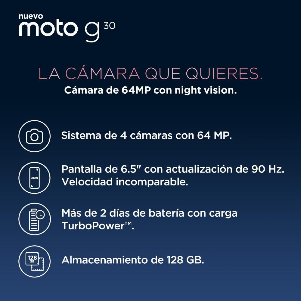 Smartphone Motorola G30 / 128 Gb / Liberado image number 2.0