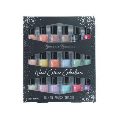 Set De Uñas Loveable Luxuries Nail Colour Collection