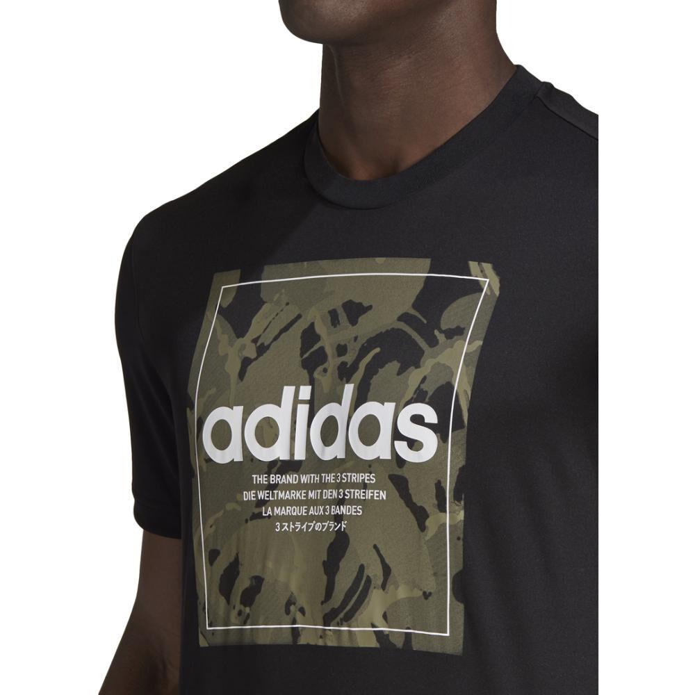 Polera Hombre Adidas Camouflage Box image number 4.0