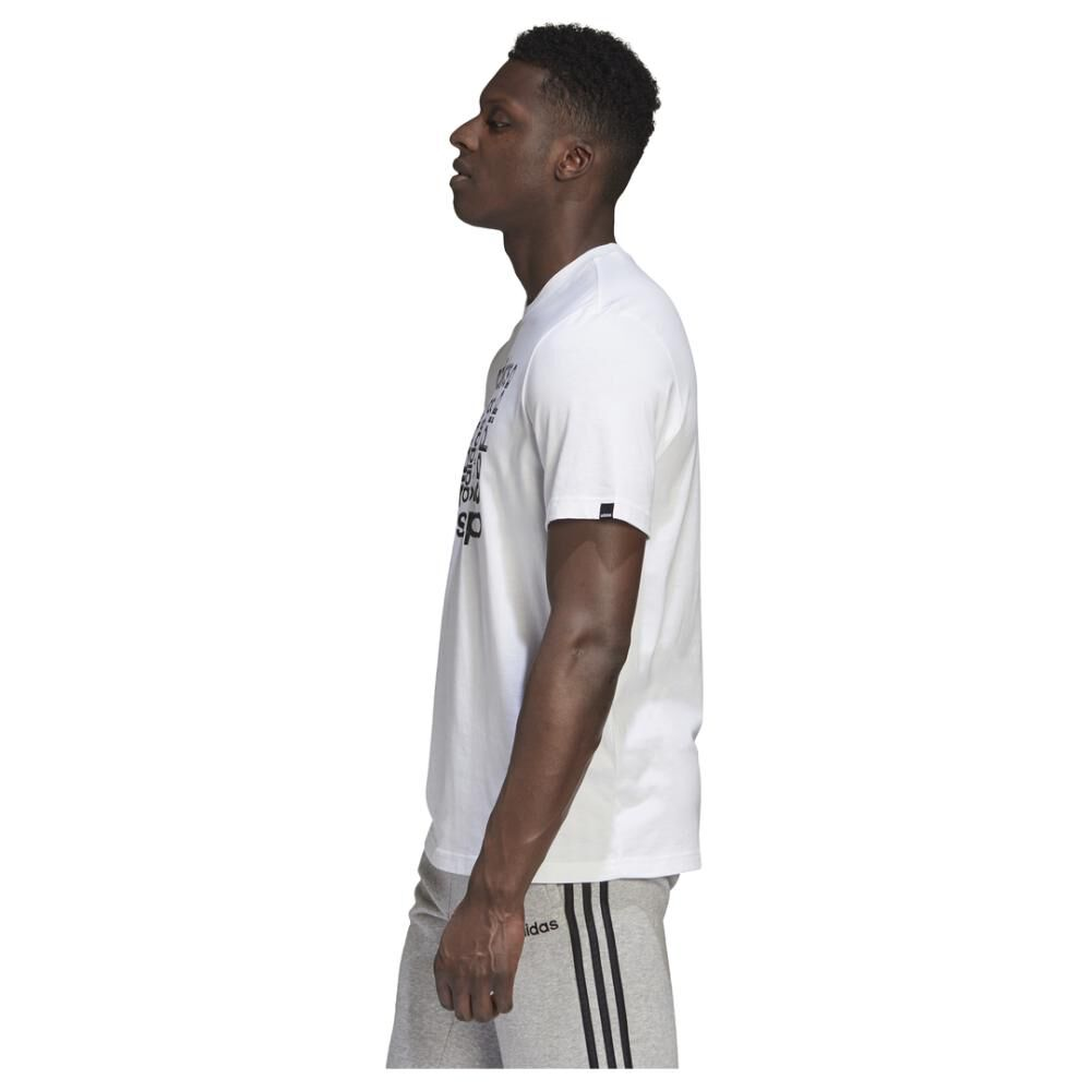 Polera Hombre Adidas M Hyperreal Dimension Tee image number 3.0
