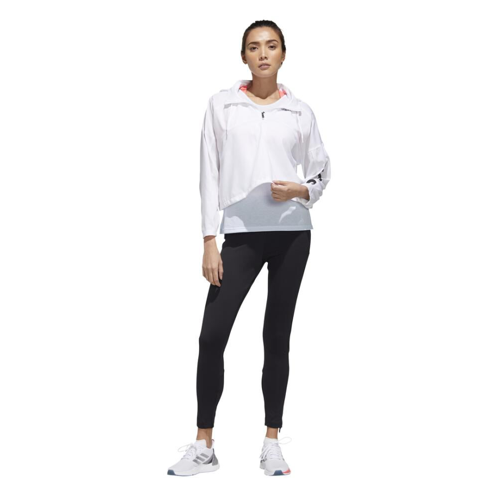 Polerón Deportivo Mujer Adidas Activated Tech image number 2.0