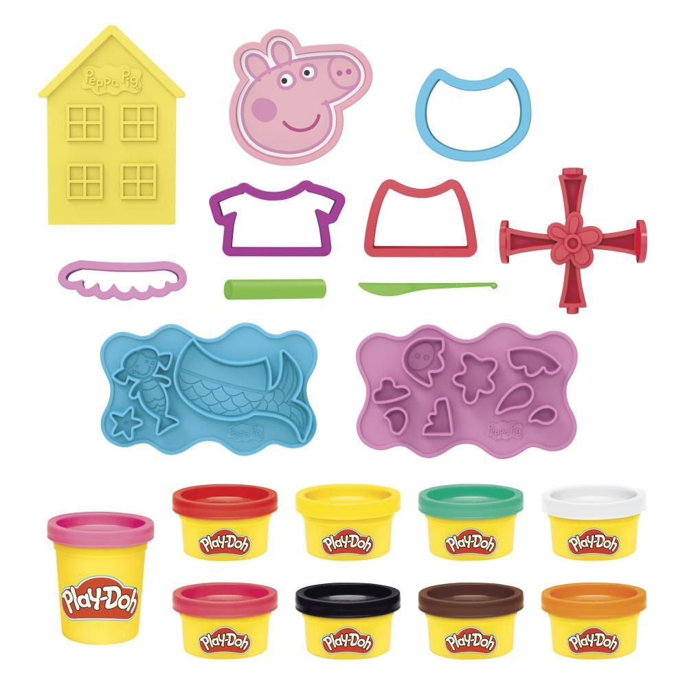 Masas Educativas Play Doh Peppa Pig image number 1.0
