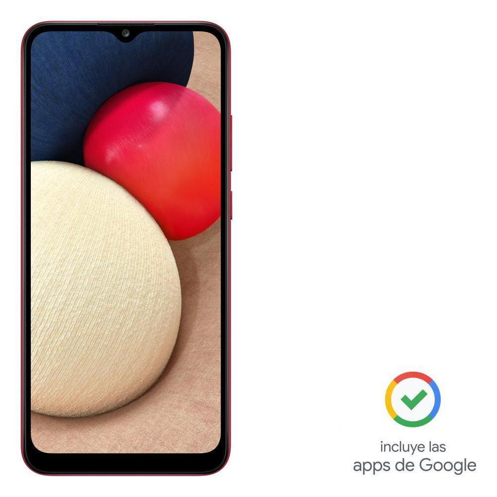 Smartphone Samsung A02S Rojo / 32 Gb / Liberado image number 9.0