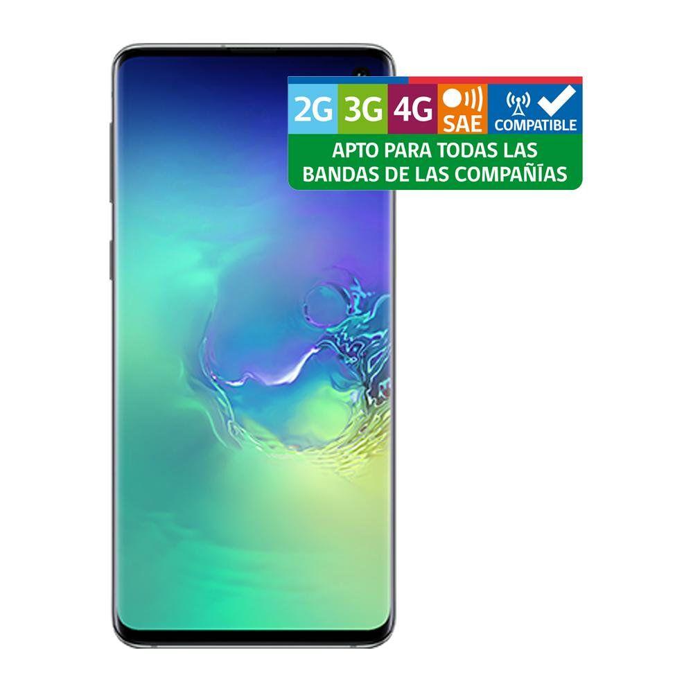 Smartphone Samsung Galaxy S10  Verde  /  128 GB   /  Liberado image number 6.0