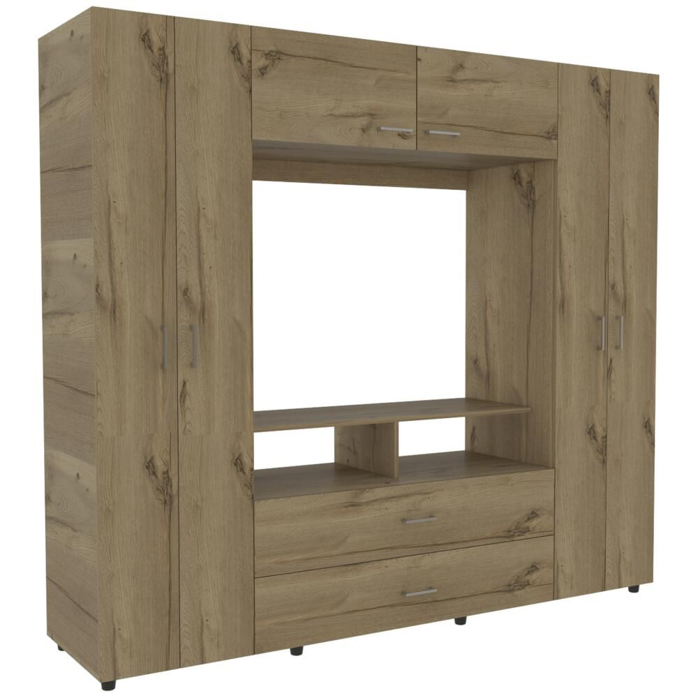 Closet Tuhome Z-200/ 6 Puertas/ 2 Cajones image number 2.0