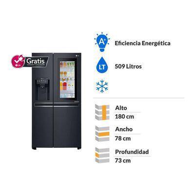 Refrigerador LG No Frost, Door In Door LS65SXTAFQ 601 Litros