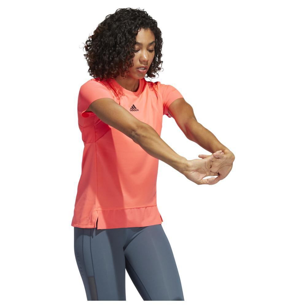 Polera Mujer Adidas De Entrenamiento Heat.rdy image number 2.0