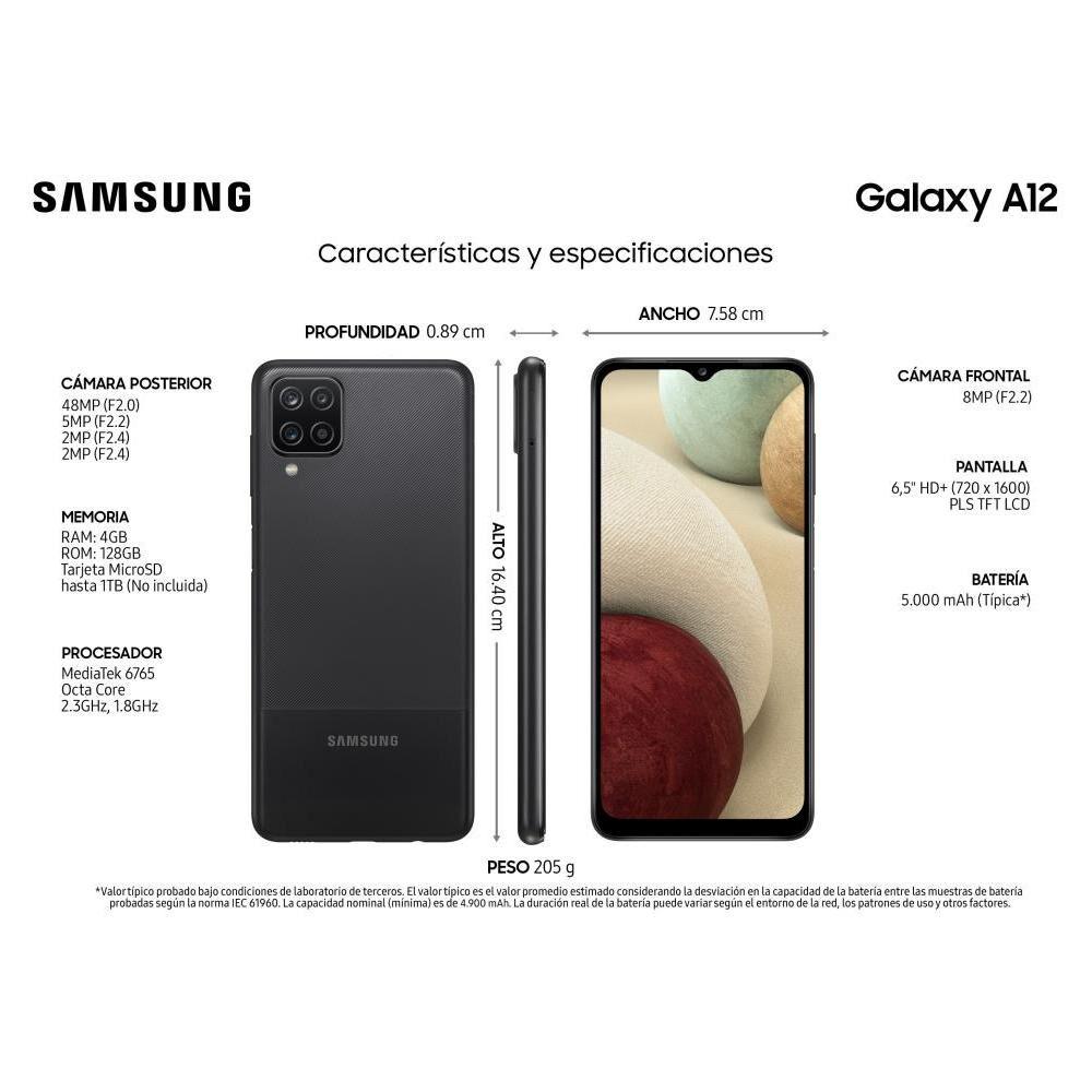 Smartphone Samsung A12 128 GB / Liberado image number 9.0