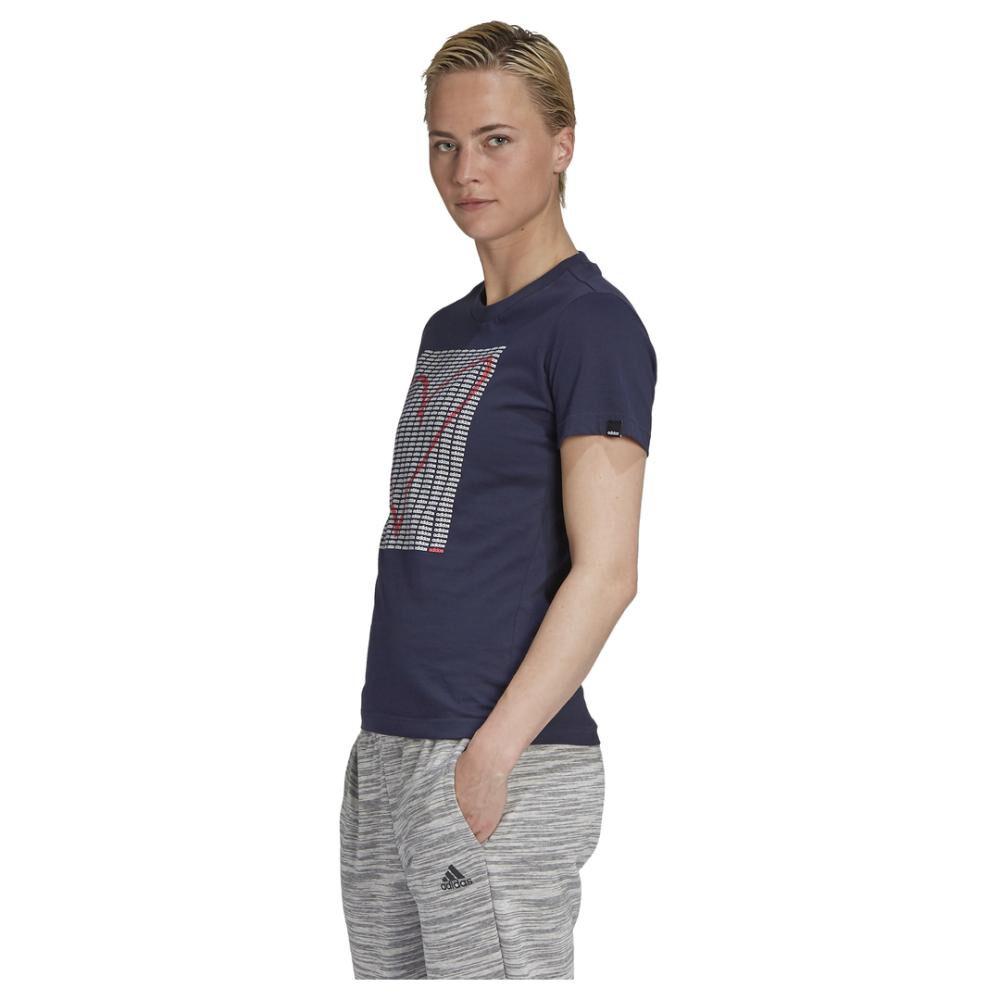 Polera Mujer Adidas Womens Adi Heart Graphic image number 1.0