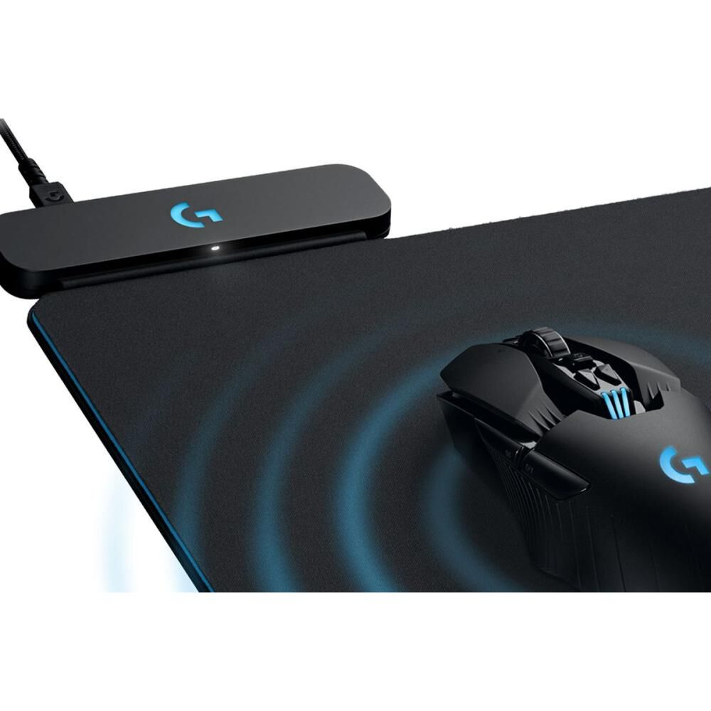 Mouse Pad Gamer Logitech Power Play Pad  - image number 1.0