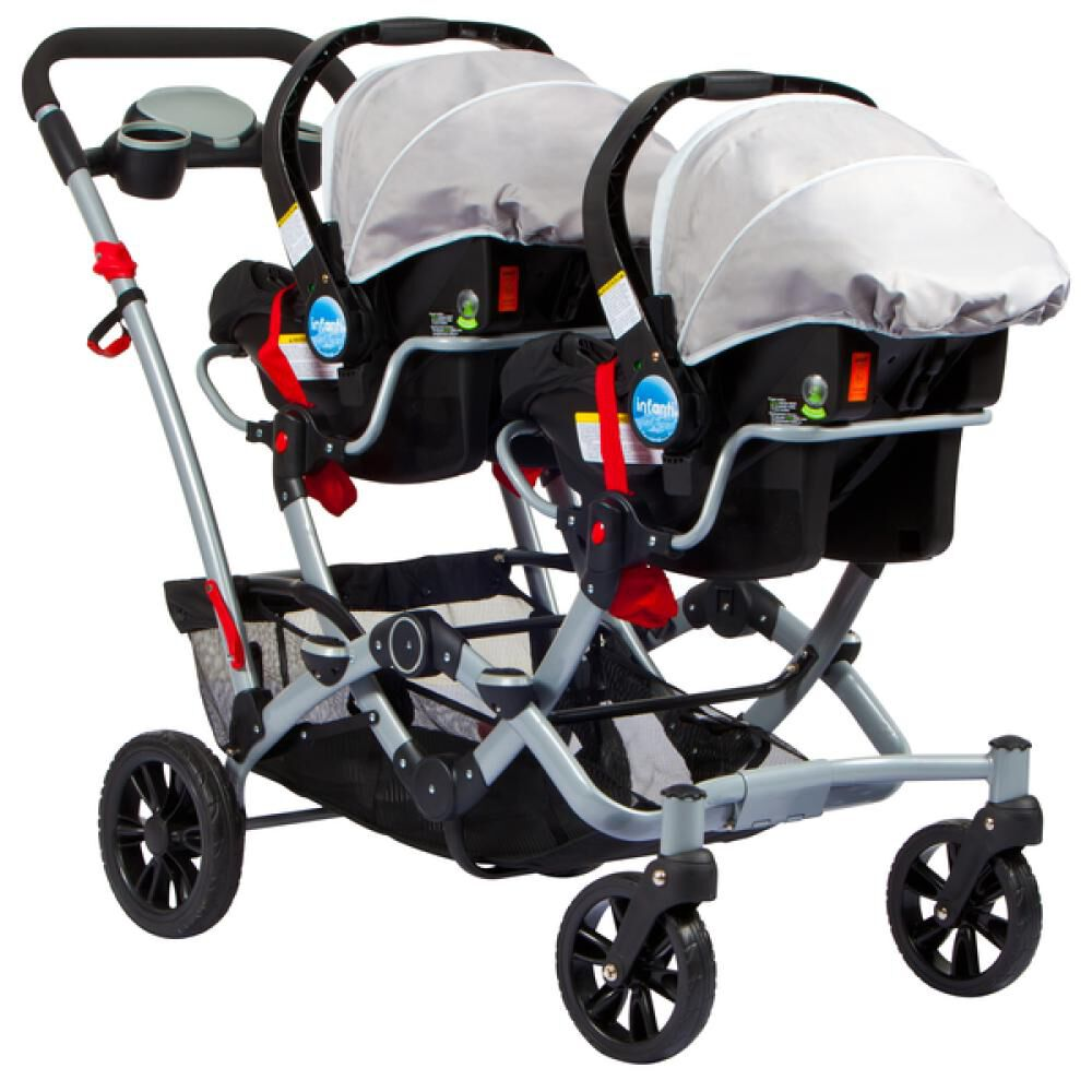 Coches Duo Ride Gery + 2 Sillas Y 2 Bases Infanti image number 6.0