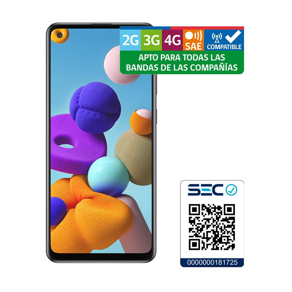 Smartphone Samsung A21s 64 Gb - Liberado image number 7.0
