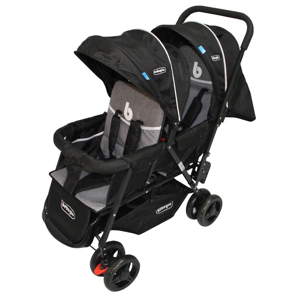 Coches Doble Duo Prix Rs-13300-4 Gris-Negro image number 5.0