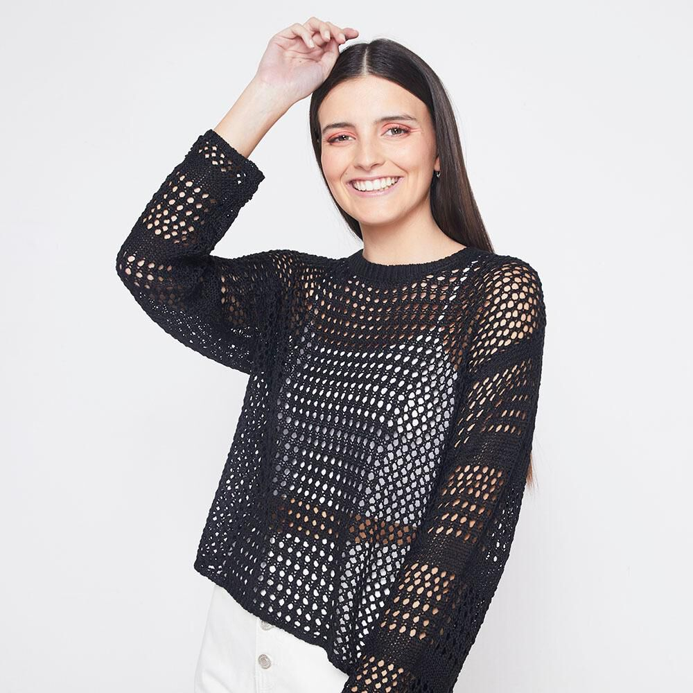Sweater Tejido Mujer Freedom image number 0.0