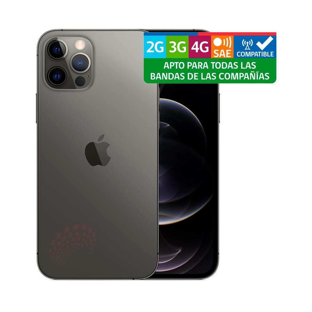 Smartphone Apple Iphone 12 Pro Reacondicionado Gris / 256 Gb / Liberado image number 2.0