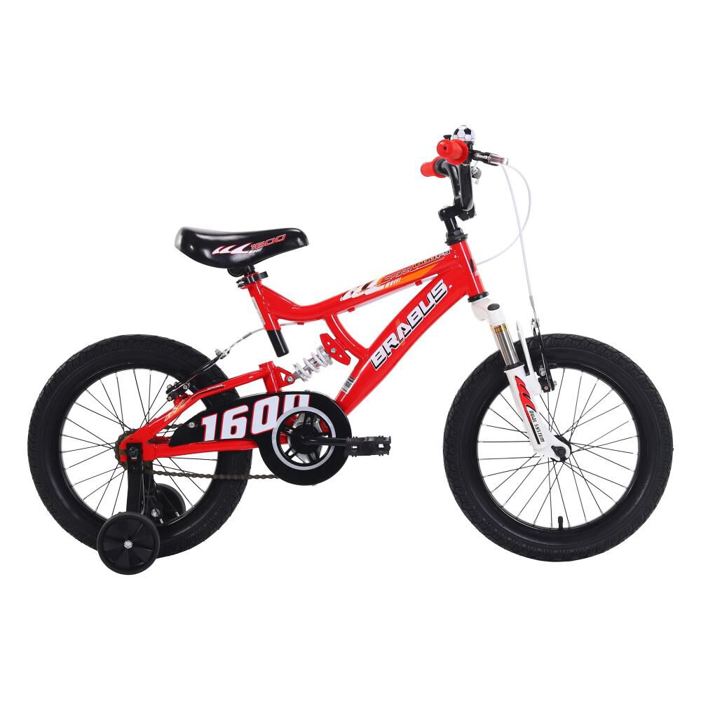 Bicicleta Infantil Brabus Spider 1600fs / Aro 16 image number 0.0