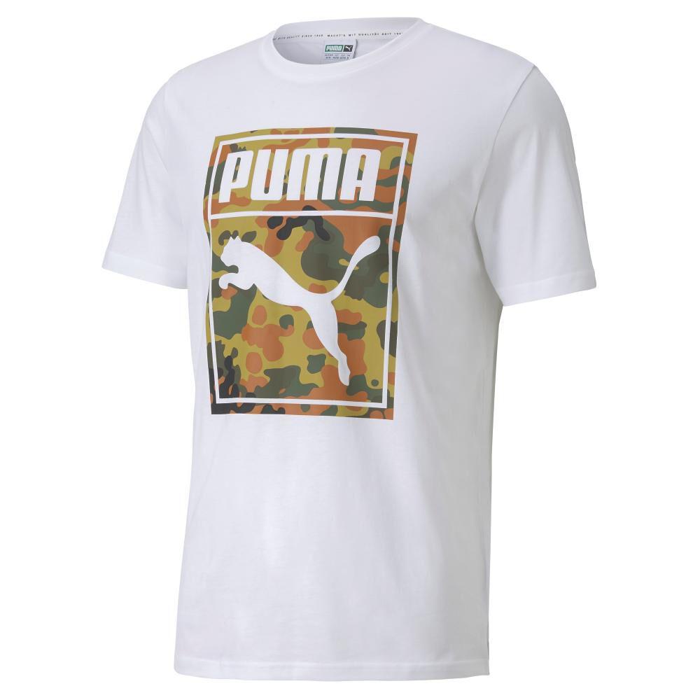 Polera Hombre Puma Classics Graphics Logo Tee image number 0.0