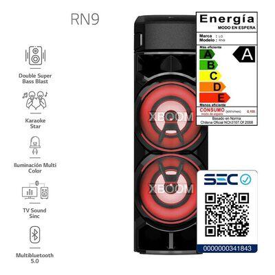 Minicomponente LG XBOOM Torre De Sonido RN9