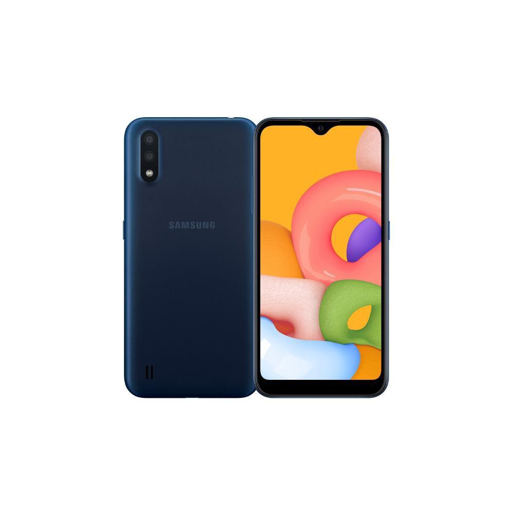 Smartphone Samsung A01 Azul / 32 Gb / Liberado image number 0.0
