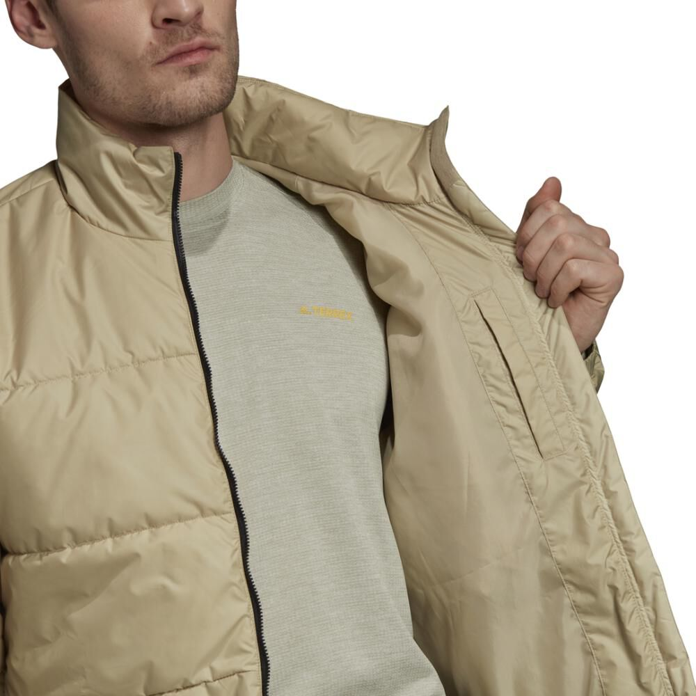 Chaqueta Deportiva Hombre Adidas Insulated Bsc 3 Bandas image number 1.0