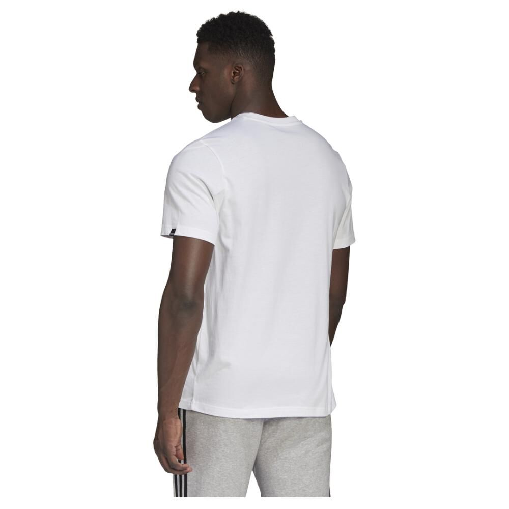 Polera Hombre Adidas M Hyperreal Dimension Tee image number 5.0