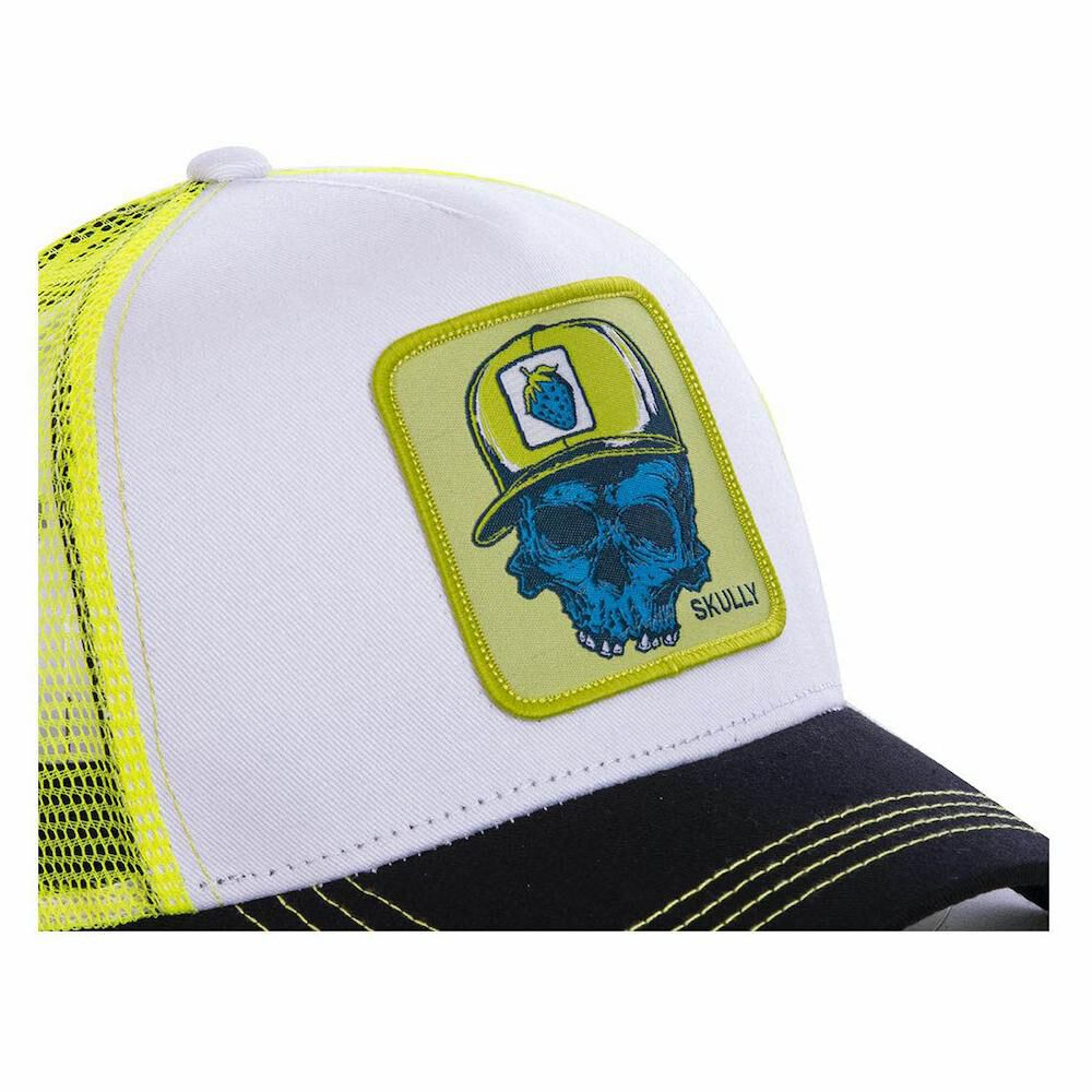 Jockey Trucker Freegun Calavera Rap-amarillo image number 1.0