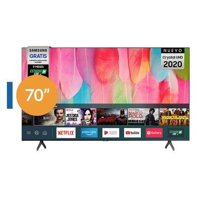 "Led Samsung Un70Tu7100Gx / 70""/ Crystal UHD 4K / Smart Tv 2020"