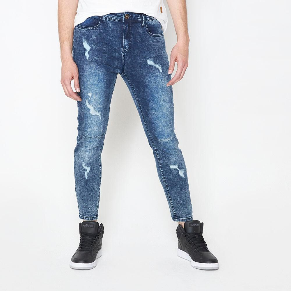 Jeans Super Skinny Hombre Rolly Go image number 0.0