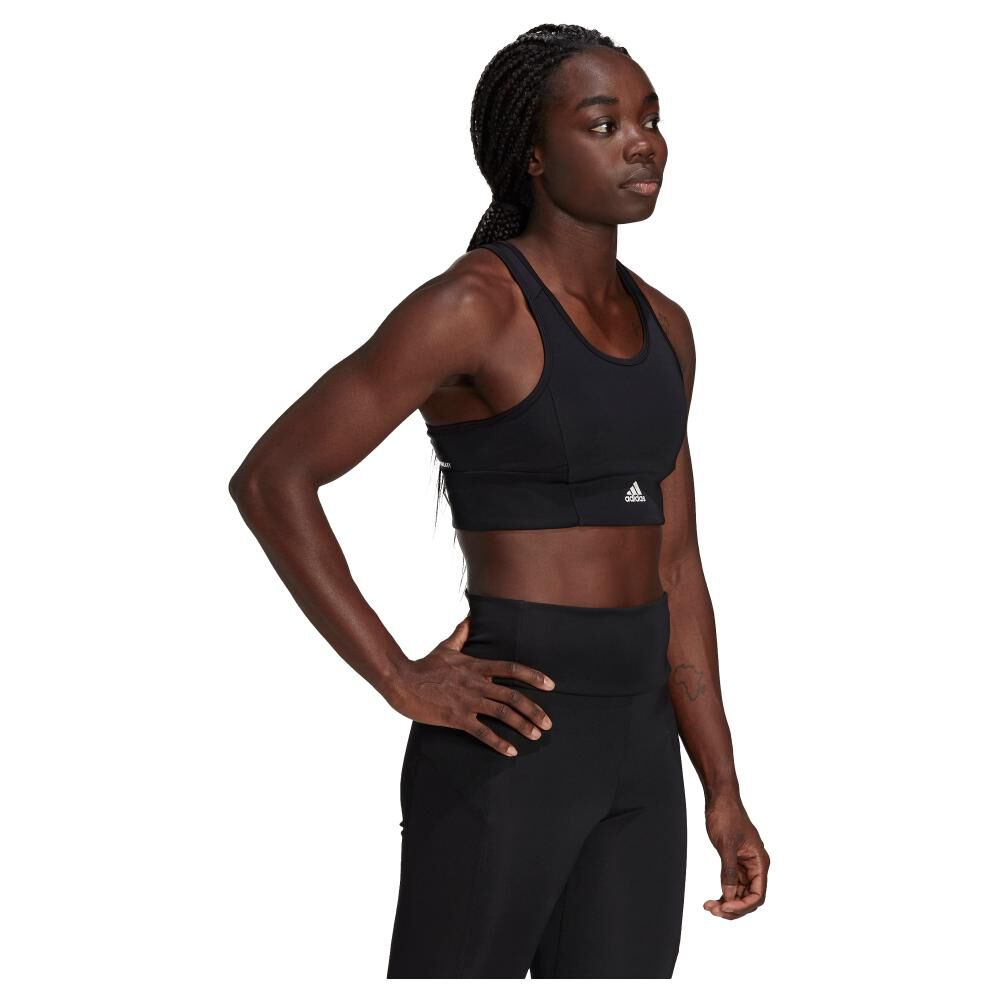 Peto Deportivo Mujer Adidas 3-stripes Padded Sports Crop Top image number 4.0