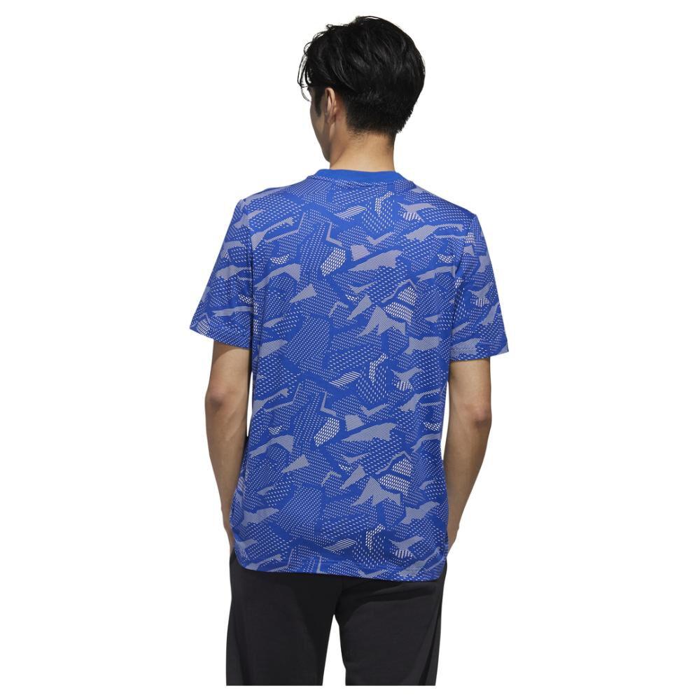 Polera Hombre Adidas Essentials Allover Print image number 3.0