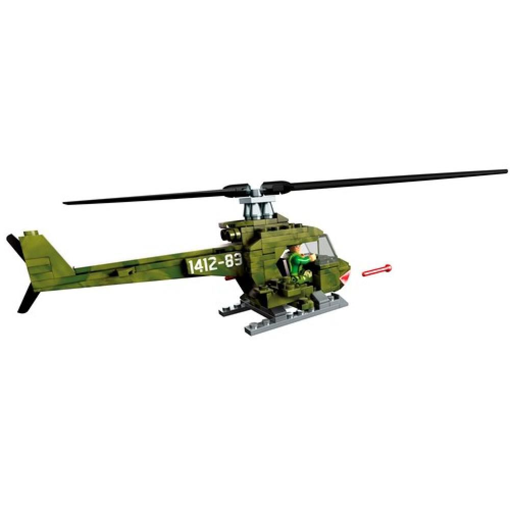 Helicoptero Megabloks Helicoptero Militar Armable image number 2.0