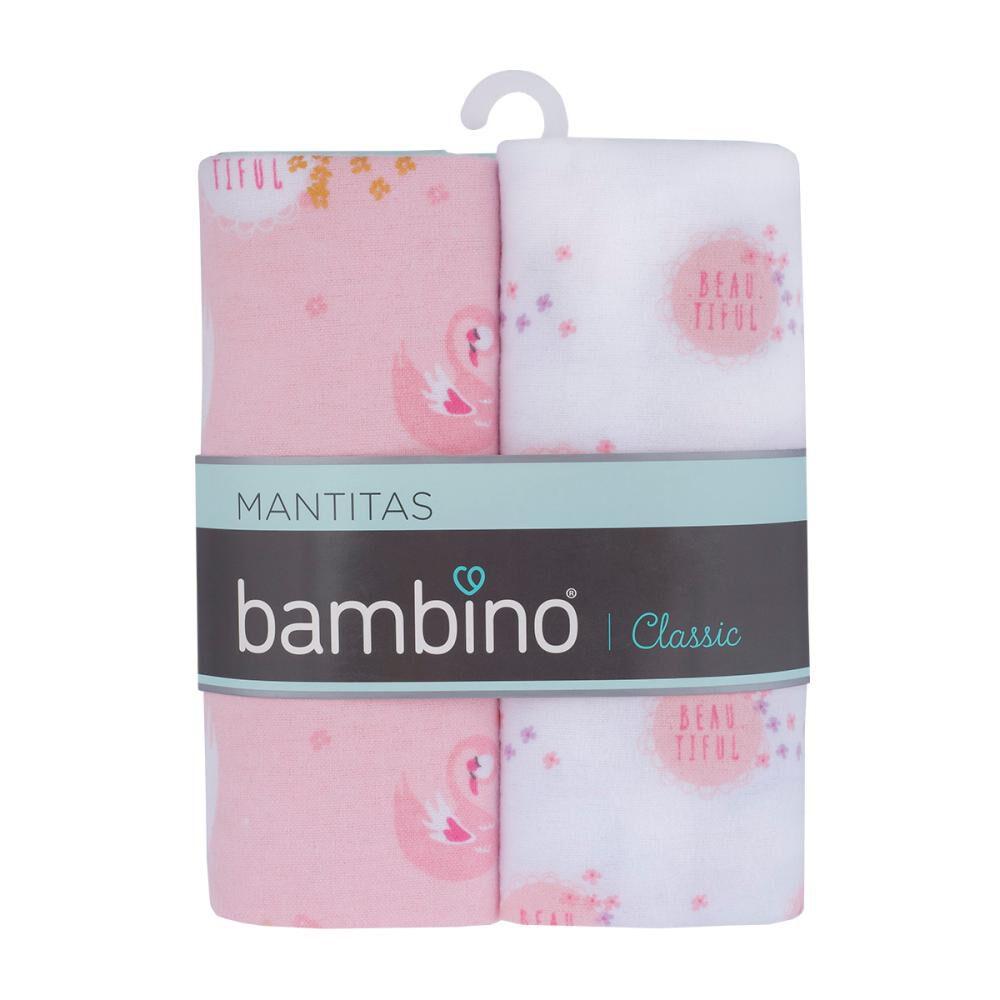 Set De Mantitas Bambino Franela / 2 Unidades image number 0.0