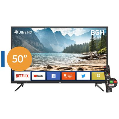 "Led BGH B5019uk6ic / 50"" / Ultra Hd 4k / Smart Tv"