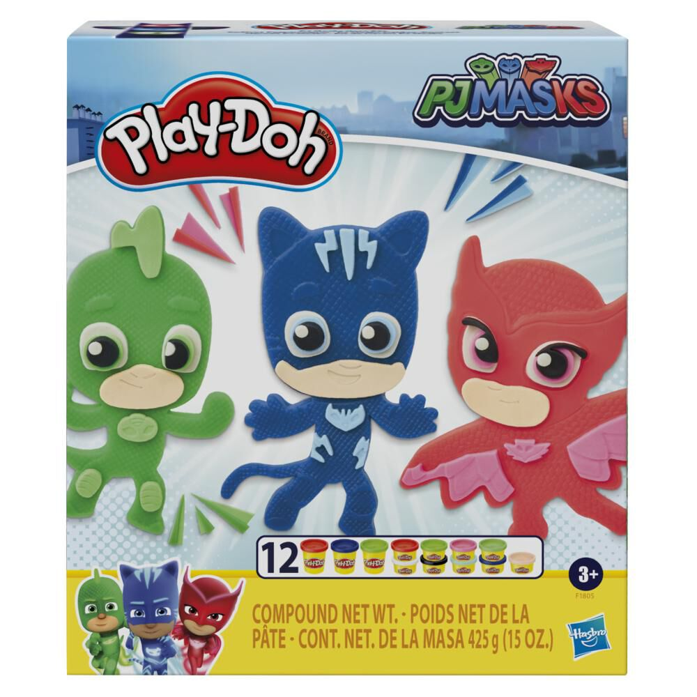 Plasticinas Play Doh Héroes Pj Masks image number 0.0