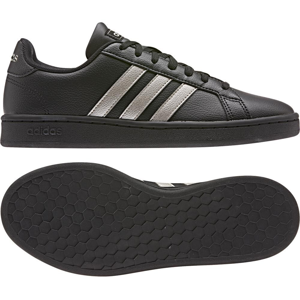 Zapatilla Urbana Mujer Adidas Grand Court image number 4.0