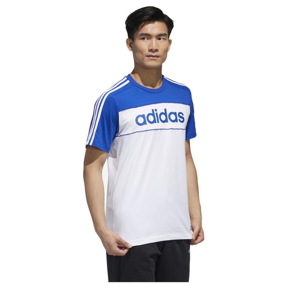 Polera Hombre Adidas Essentials Tape image number 4.0