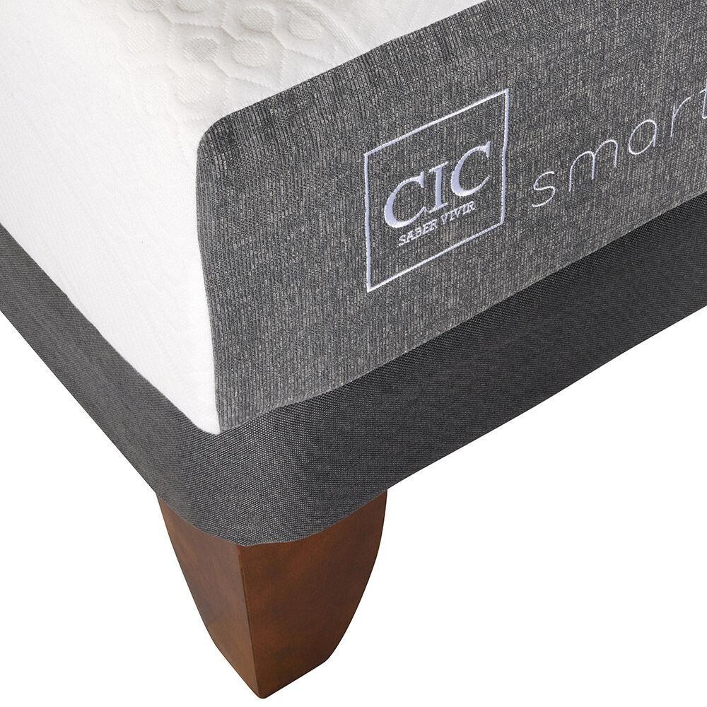 Cama Europea Cic Smart / King / Base Dividida image number 2.0