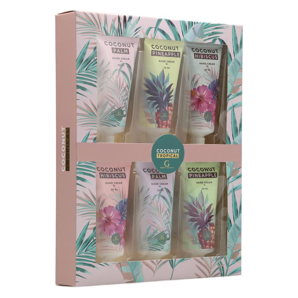 Pack Cremas Geeps Secret Coconut Tropical image number 1.0
